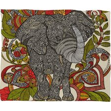 Valentina Ramos Bo The Elephant Throw Blanket