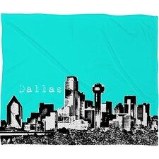 Bird Ave Dallas Throw Blanket
