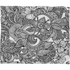 Valentina Ramos Doodles Throw Blanket