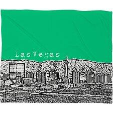 Bird Ave Las Vegas Throw Blanket