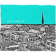 Bird Ave Athens Throw Blanket