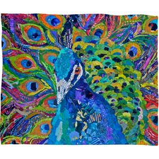 Elizabeth St Hilaire Nelson Cacophony of Color Throw Blanket
