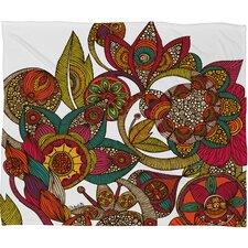 Valentina Ramos Garden Ava Throw Blanket