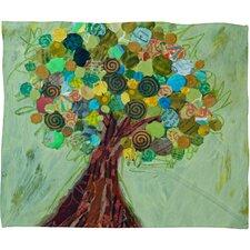 Elizabeth St Hilaire Nelson Spring Tree Throw Blanket