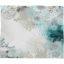 Iveta Abolina Seafoam Throw Blanket