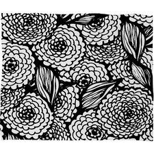 Julia Da Rocha Bouquet of Flowers Love Throw Blanket