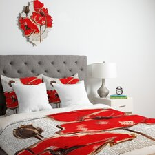 Irena Orlov Red Perfection Duvet Cover Collection