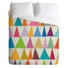 Nick Nelson Analogous Shapes in Bloom Duvet Cover Collection
