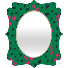 Vy La Animal Love Quatrefoil Mirror