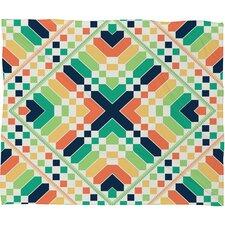 Budi Kwan Retrographic Rainbow Throw Blanket