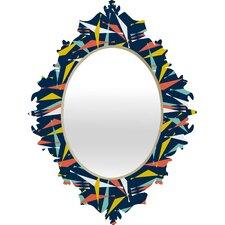Heather Dutton Swizzlestick Party Girl Baroque Mirror