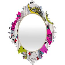 Mary Beth Freet Couture Home Birds Baroque Mirror