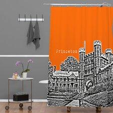 Bird Ave Princeton University Shower Curtain