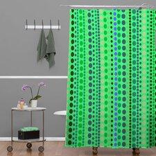 Romi Vega Retro Shower Curtain
