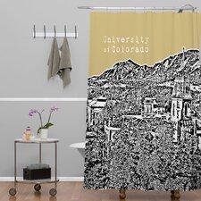 Bird Ave University of Colorado Shower Curtain