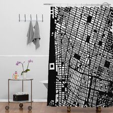 CityFabric Inc NYC Shower Curtain