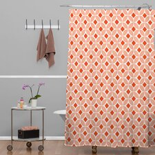 Caroline Okun Persimmon Shower Curtain