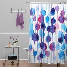 CMYKaren Abstract Shower Curtain