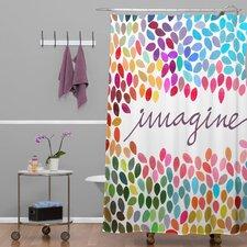 Garima Dhawan Dots Imagine 1 Shower Curtain