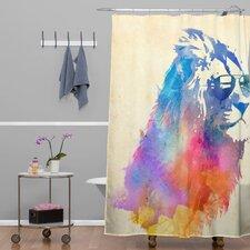 Robert Farkas Sunny Leo Shower Curtain
