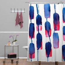 CMYKaren Run Shower Curtain