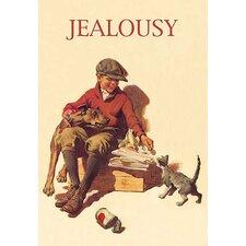 'Jealousy' Painting Print