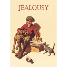'Jealousy' Vintage Advertisement
