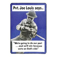 'Private Joe Lewis Says…' by U.S. Army Graphic Art
