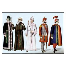 Odd Fellows: Costumes for Guards and Supporters Graphic Art