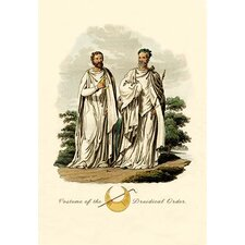 'Costume of the Druidical Order' Painting Print
