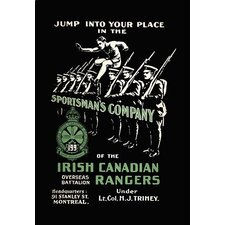 Sportsman's Company (Irish Canadian Rangers) Vintage Advertisement
