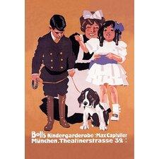'Boll's Kindergardenrobe (Children's Clothes)' Vintage Advertisement