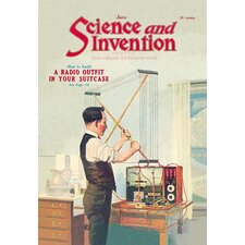 Science and Invention: How to Build a Radio Outfit in Your Suitcase Vintage Advertisement