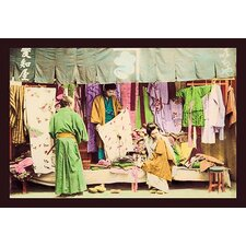 Second Hand Clothing Shop Photographic Print