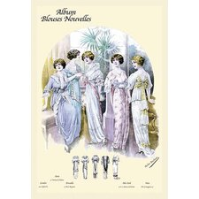 'Album Blouses Nouvelles: An Evening in Bows and Ruffles' by Atelier Bachroitz Graphic Art