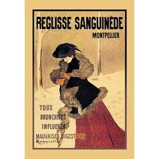 Reglisse Sanguinede by Leonetto Cappiello Vintage Advertisement