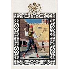 Tennis in Renaissance Costume Painting Print