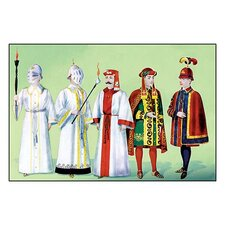 Odd Fellows: Costumes for Scene Supporters Painting Print