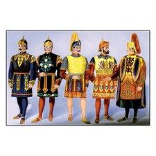 Odd Fellows: Royal Guard Costumes Painting Print