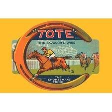 'Tote Tonic' Vintage Advertisement