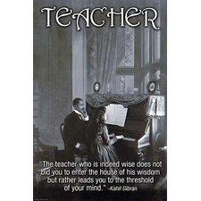 'Teacher' by Wilbur Pierce Vintage Advertisement