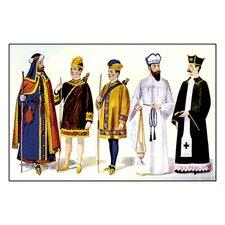 Odd Fellows: Costumes for the Good Samaritan Graphic Art