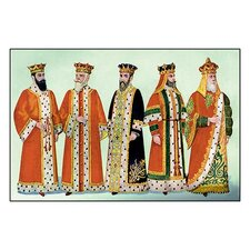 Odd Fellows: Costumes for King Saul Painting Print