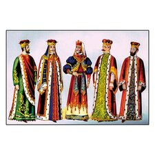 Odd Fellows: Costumes for King Painting Print