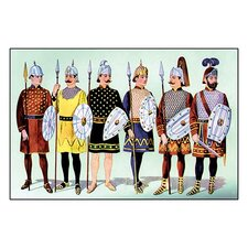 Odd Fellows: Costumes for Guards Painting Print