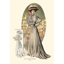 Le Costume Royal: Lady in Green Painting Print