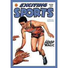 'Exciting Sports: Hoop Magic' Graphic Art
