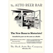 'The Auto Beer Bar' by Tousey Vintage Advertisement