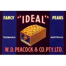 'Ideal Fancy Pears' Vintage Advertisement
