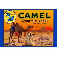 'Camel Mountain Pears' Vintage Advertisement